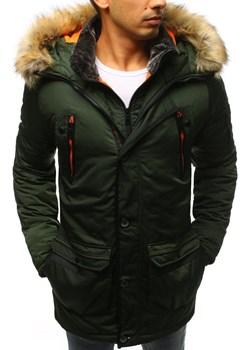 Kurtka męska zimowa zielona TX3835 Dstreet promocyjna cena DSTREET - kod rabatowy