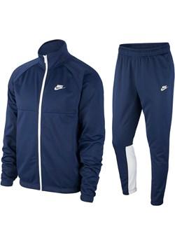 Męski dres spodnie i bluza NIKE NSW Tracksuit DB5069-410 Granatowy S Nike an-sport - kod rabatowy