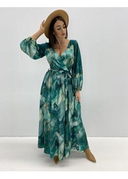 wzorzysta maxi sukienka Mywear - kod rabatowy