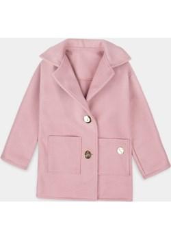 Różowy wełniany płaszcz 98/104 Myprincess.pl MKA GROUP - kod rabatowy
