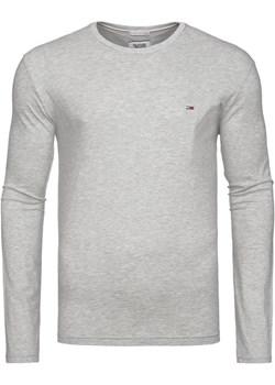Koszulka  Longsleeve Tommy Hilfiger Jeans Grey Tommy Hilfiger zantalo.pl okazja - kod rabatowy