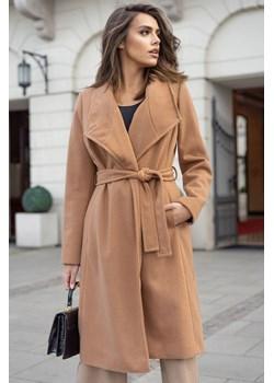 Popatu Rennes - klasyczny płaszcz z wiązaniem w talii Popatu POPATU - kod rabatowy