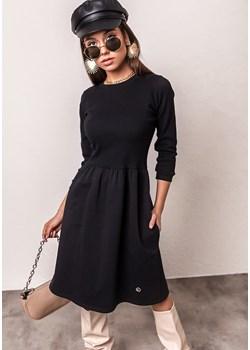 Sukienka Reyhan - czarna Latika okazja Butik Latika - kod rabatowy