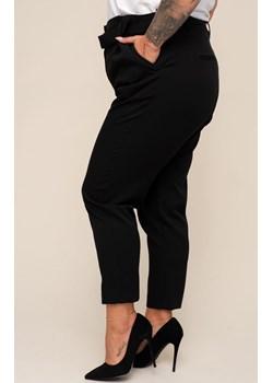 Czarne spodnie eleganckie BARUA TONO - kod rabatowy