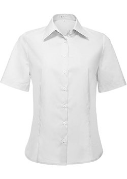 Bodara damska bluzka koszulowa  z krótkim rękawem Bodara ATELIER-ONLINE - kod rabatowy