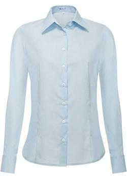 Bodara niebieska damska koszula z długim rękawem Bodara ATELIER-ONLINE - kod rabatowy