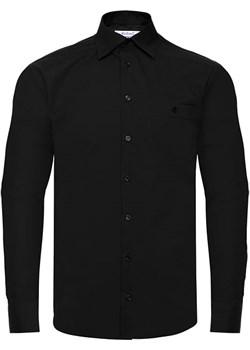 Koszula czarna z długim rękawem Bodara ATELIER-ONLINE - kod rabatowy