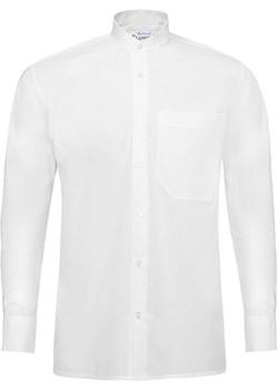 Bodara koszula biała na stójce z długim rękawem Bodara promocja ATELIER-ONLINE - kod rabatowy