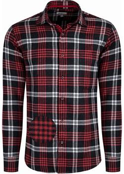 Bodara koszula flanelowa w czarno-czerwoną kratę Bodara okazja ATELIER-ONLINE - kod rabatowy