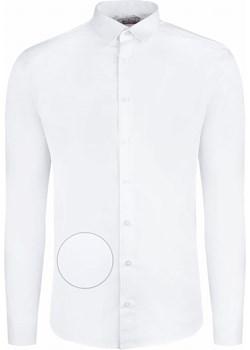 Koszula biała z długim rękawem na spinki Bodara ATELIER-ONLINE - kod rabatowy