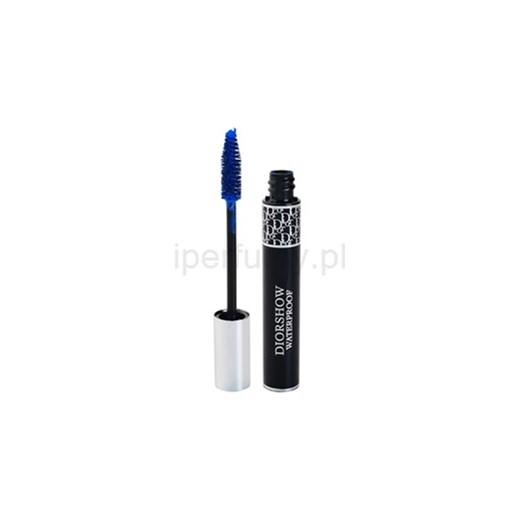 13800cd1d263 Dior Diorshow Mascara Waterproof tusz wydłużający i pogrubiający rzęsy  wodoodporna odcień 258 Catwalk Blue (Buildable