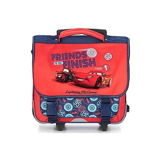 44c80a278bb0 Disney Plecaki   Tornistry na kółkach Dziecko CARS CARTABLE 38 CM TROLLEY  spartoo pomaranczowy chłopięce