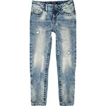 Boys light bleach wash dean straight jeans