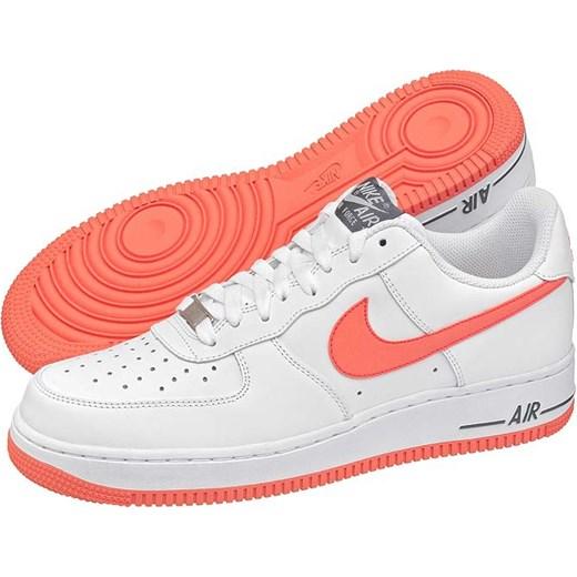 super popular 81423 0e51d Buty Nike Air Force 1 (NI418-o) butsklep-pl pomaranczowy kolorowe