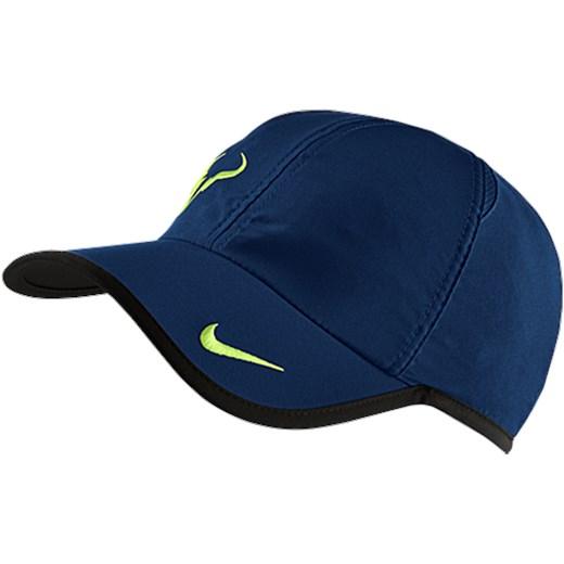 Czapka Nike RAFA BULL Logo Cap 398224 422 erakiety com granatowy