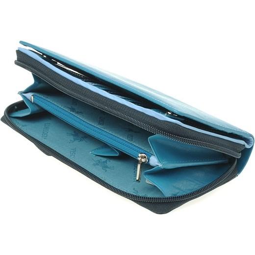 919c8b22d5c7cd Damski portfel Visconti tanner-pl niebieski damskie w Domodi