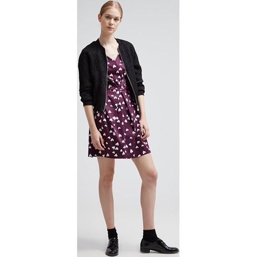 bf936ab4ed ... Closet Sukienka letnia purple and white heart zalando brazowy Odzież ...