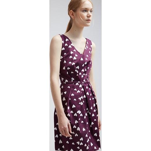 44bf58da04 ... Closet Sukienka letnia purple and white heart zalando fioletowy sukienka