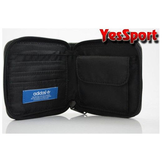 292915dfd0364 ... Portfel ADIDAS ORIGINALS AC WALLET - X33714 yessport-pl czarny sportowy  ...