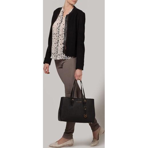 79850b5ea9518 ... MICHAEL Michael Kors JET SET TRAVEL Torba na zakupy black zalando bialy  shopper bag ...