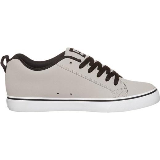 fe87fec0 ... czarny tworzywo sztuczne · DC Shoes COURT VULC Buty skejtowe grey/black  zalando szary zapięcie