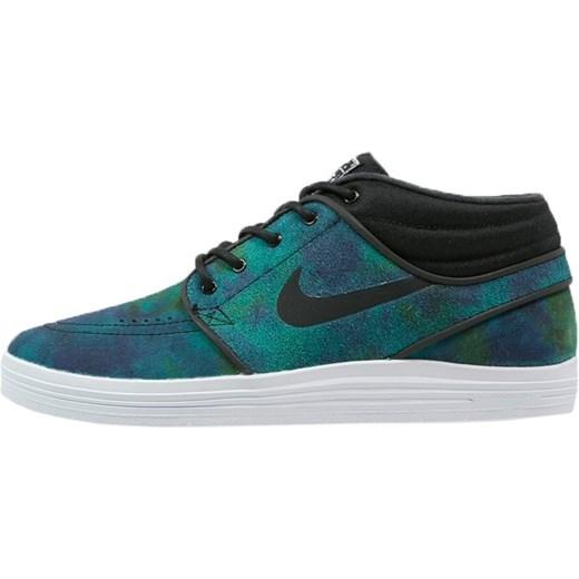 brand new 0fc88 1a583 Nike SB LUNAR STEFAN JANOSKI MID Buty skejtowe black white zalando zielony  abstrakcyjne wzory ...