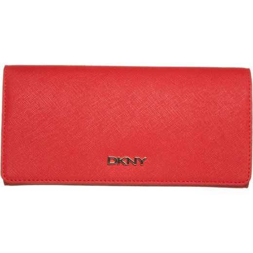 57d7c973afe8c DKNY BRYANT Portfel coral zalando czerwony podszewka w Domodi