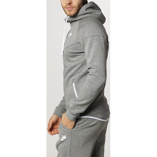 Nike Sportswear WINDRUNNER Bluza rozpinana carbon heatherwhite zalando szary abstrakcyjne wzory