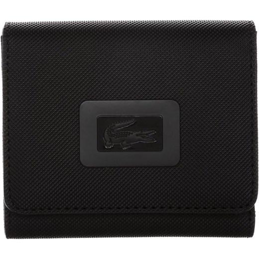 76db24d54f8e3 Lacoste Portfel black zalando czarny bawełna w Domodi