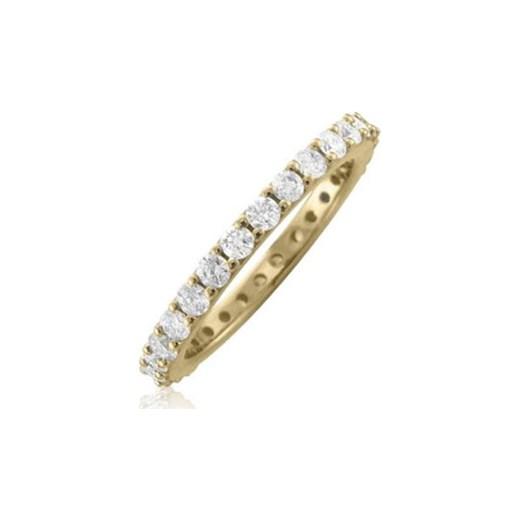 Dodatkowe Luksusowe złote obrączki z diamentami klenota-pl szary elegancki w XQ97