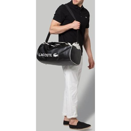 9686a936da2fd ... Lacoste ULTIMUM Torba sportowa black white zalando czarny torba ...