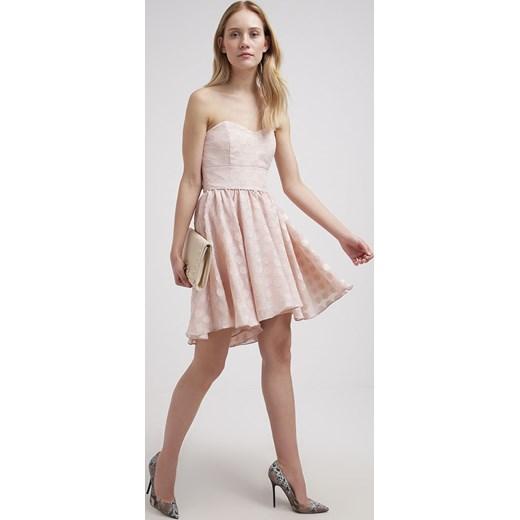 d704469d7 Swing Sukienka koktajlowa beige zalando szary abstrakcyjne wzory; Swing  Sukienka koktajlowa beige zalando rozowy bez wzorów/nadruków ...
