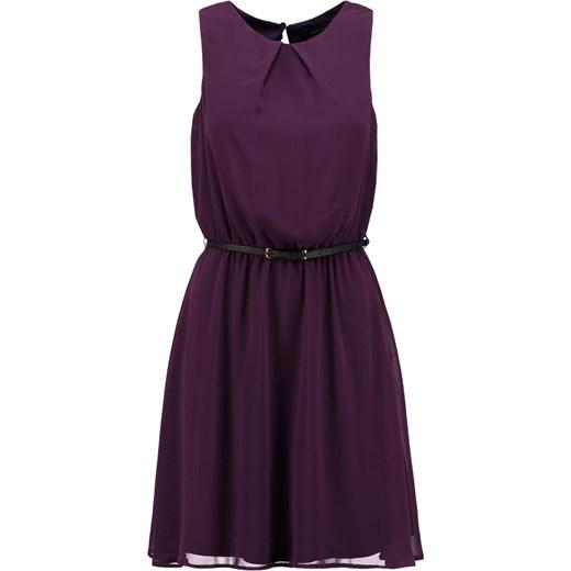 New Look FIONA Sukienka koszulowa purple zalando czarny abstrakcyjne wzory  ... 22a6113bb033