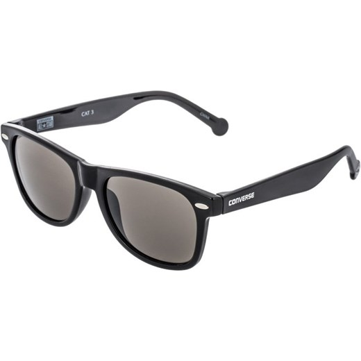 Converse CHUCK TAYLOR H010 Okulary przeciwsłoneczne black zalando bialy szkło
