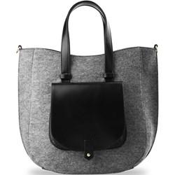 e9639b57874a7 Shopper bag Riccaldi - world-style.pl
