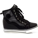 Czarne Sneakersy Black Sneakers Rosalie