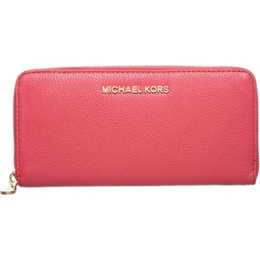 b10f2d845d511 MICHAEL Michael Kors CONTINENTAL Portfel watermelon zalando rozowy  podszewka ...