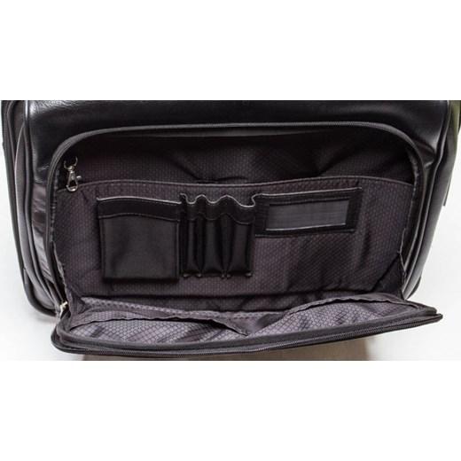 03808c93c8f2f ... MCKLEIN Lasalle 83405 ekskluzywna torba skórzana na laptopa 17',  podróżna z dopinanym wózkiem skorzana ...