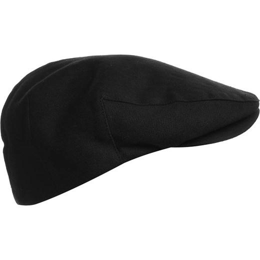 ... Brixton HOOLIGAN Czapka black herringbone twill zalando czarny bawełna  ... 6461d0a34da