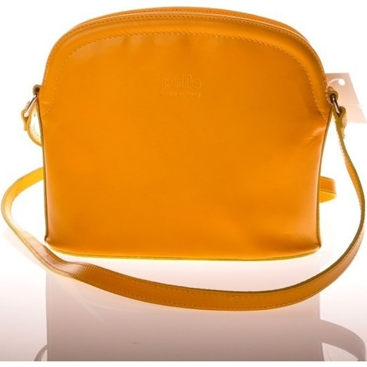 ec0df460c19bc MADE IN ITALY Postino 025 żółta włoska torebka skórzana listonoszka skorzana -com