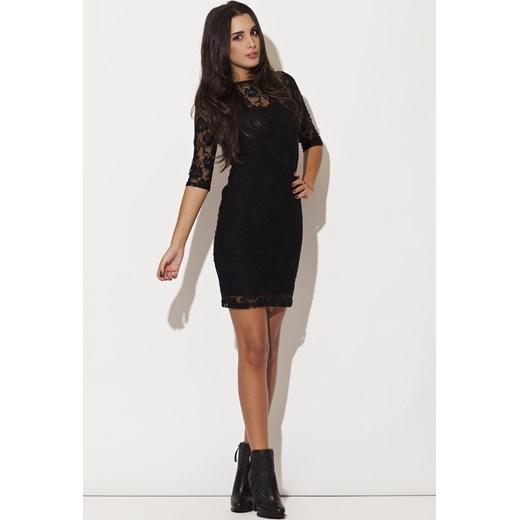 6682c9ff46 Koronkowa sukienka mini - 3 kolory onemarket-pl mat w Domodi