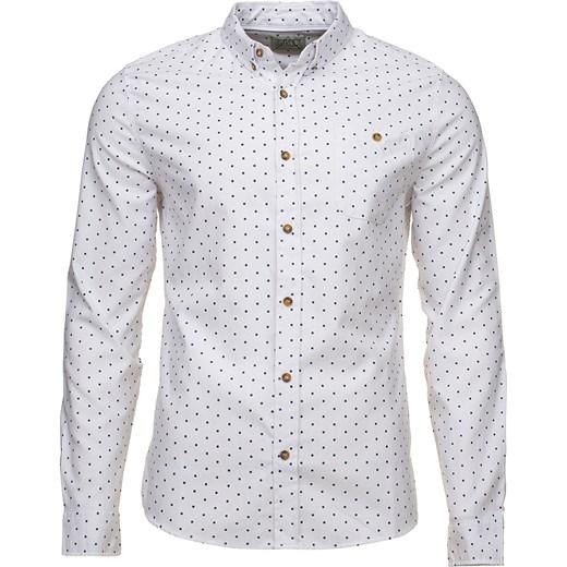 704b5488ed94b3 Biała koszula w kropki D-Struct Ventura majesso-pl koszule w Domodi