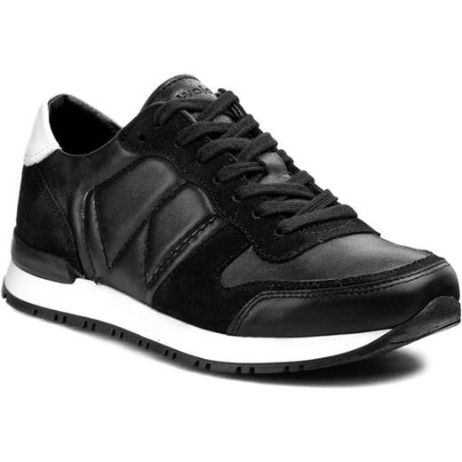 5fae8ba353f49 Sneakersy WOJAS - 5529-71 Czarny eobuwie-pl czarny Półbuty damskie płaskie