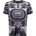 Jaded London MONUMENT Tshirt z nadrukiem grey