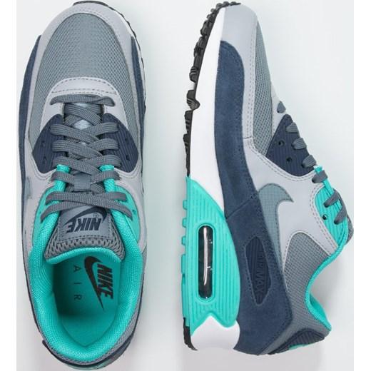 Nike Sportswear AIR MAX 90 ESSENTIAL Tenisówki i Trampki blue graphitewolf grey zalando szary Niskie męskie