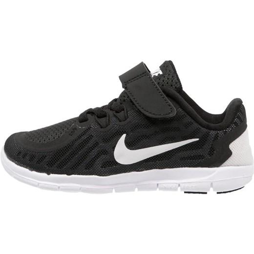 Nike Performance FREE 5.0 Obuwie do biegania neutralne blackwhitedark greycool grey zalando czarny Buty chłopięce