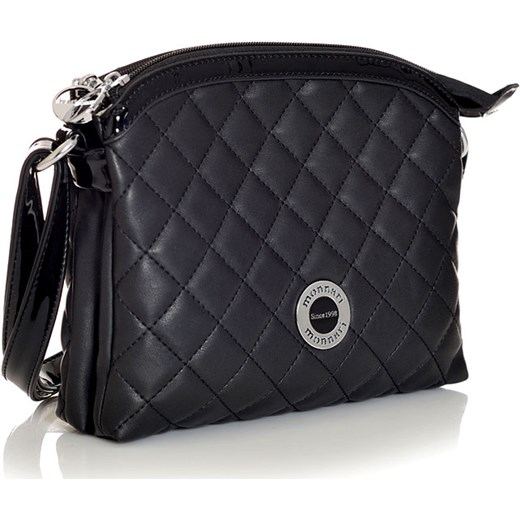 c749cbf014033 MONNARI Torebka pikowana listonoszka czarna 9480a m-m-studio-mody czarny  modne