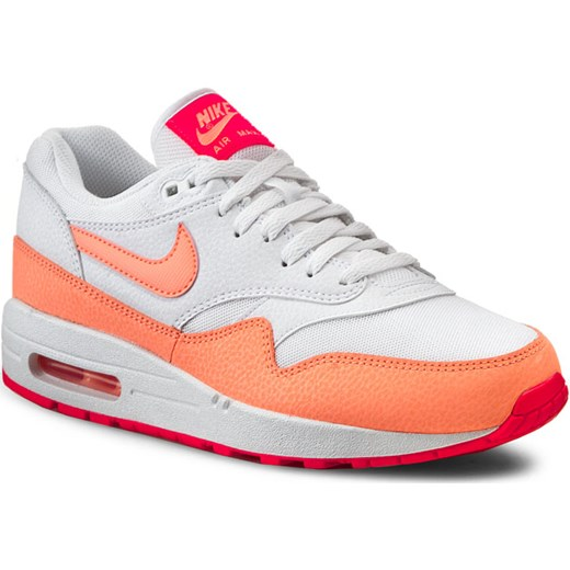 designer fashion cd0a2 2da98 Sneakersy NIKE - Air Max 1 Essential 599820 114 White Sunset Glow Hot Lava