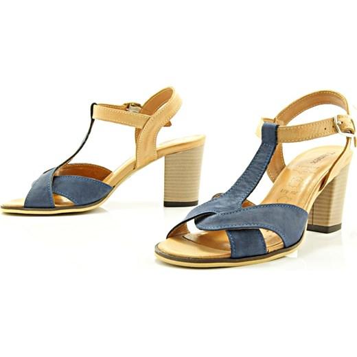 e47d69a554918 TANEX 374 GRANAT-BEŻ - Wygodne sandały damskie ze skóry  sklep-obuwniczy-kent ...