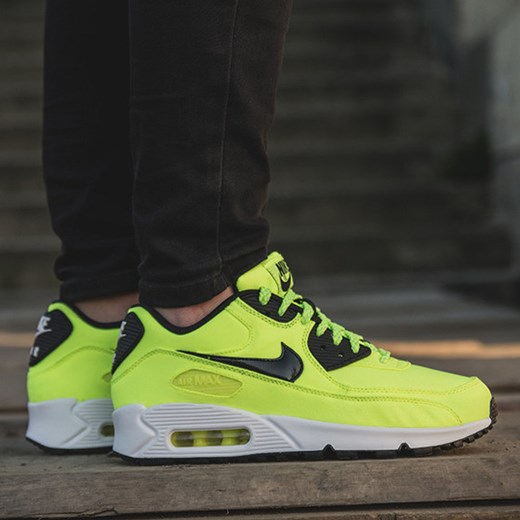 d7872f6319 SNEAKERSY DAMSKIE NIKE AIR MAX 90 FB (GS) 705392 700 sneakerstudio-pl  zielony ...